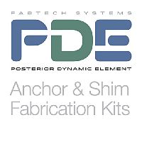 PDE Anchor & Shim Fabrication Kits