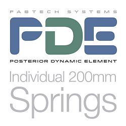 PDE Individual 200mm Springs