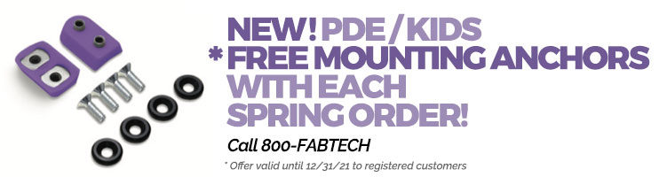 Introductory Offer: FREE Mounting Anchors!